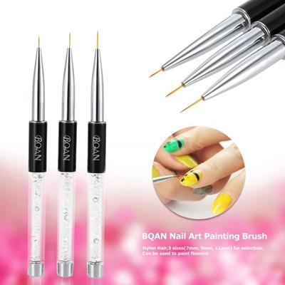 Qoo10 7mm9mm11mm Nail Art Painting Brush Crystal Acrylic Nail