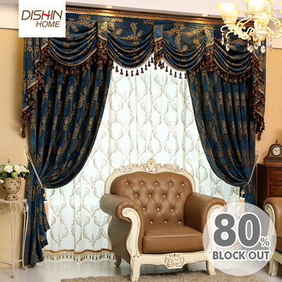 80 Blackout Curtains Luxury Curtain Customized Sunblock Sunlight Protection