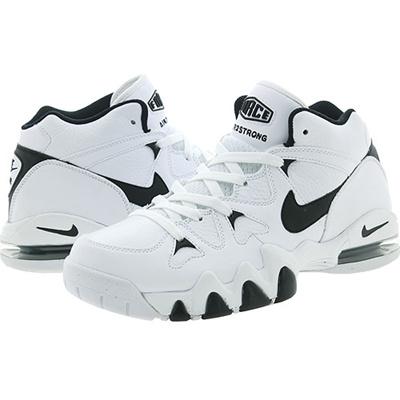 6e9dfbbb36c8 Qoo10 -  805892-100  NIKE AIR 2 STRONG MID WHITE BLACK-WHITE   Men s Bags    Shoes