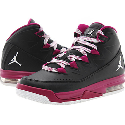Qoo10 -  807714-009  NIKE JORDAN AIR DELUXE GG BLACK WHITE-SPORT FUCHSIA    Men s Bags   Shoes 46a3de35d