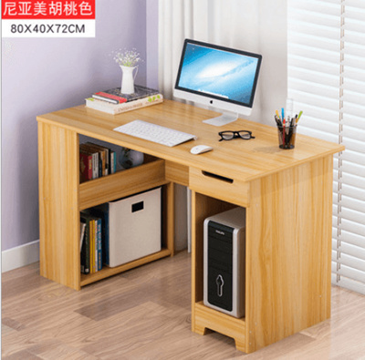 80x40x72cm BROWN COKLAT WOODEN DESK Modern Design Furniture Computer Table  Study book cashier
