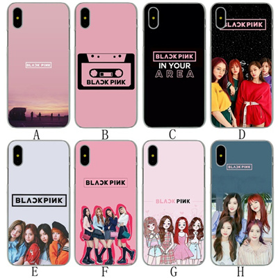 official photos 736b1 589fe 82A BLACKPINK BLACK PINK JISOO Hard Coque Shell Phone Case for Apple iPhone  X 10 8 7 6 6S Plus 5 5S