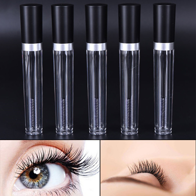 d9236f5610c 8ML Empty Black Cover Head Mascara Tube Eyelash Cream Vial/Bottle/Container
