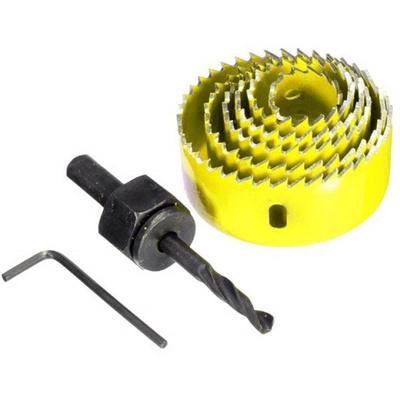 Qoo10 - 8Pcs Wood Alloy Iron Cutter Bimetal Hole Saw Drill Bit Kit w Hex Wrenc... : Furniture & Deco