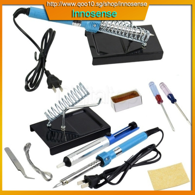qoo10 9 in1 diy electric soldering iron starter tool kit set with iron stand furniture. Black Bedroom Furniture Sets. Home Design Ideas