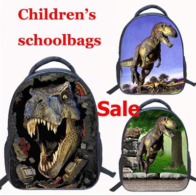 0ee83408dd51 Qoo10 - 9 Patterns Dinosaur 3D Backpack Children Baby 14inch Kindergarten  Scho...   Kids Fashion