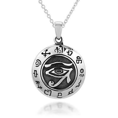 Qoo10 925collections 925 sterling silver egypt egyptian udjat eye 925collections 925 sterling silver egypt egyptian udjat eye of ra horus pendant necklace 18 for women aloadofball Choice Image