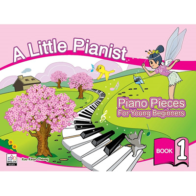 A Little Pianist Piano Pieces For Young Beginners Book 1 - Music Book