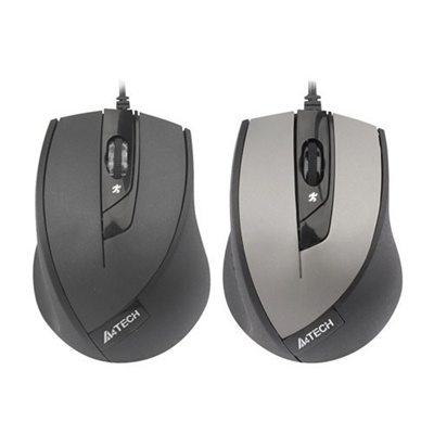 A4Tech N-600X-1 V-Track Wired Mouse Black
