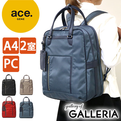 Ace Gene Business Bag A4 Correspondence Backpack Women S Biena Vienna 2way Rucksack Trip Commuting