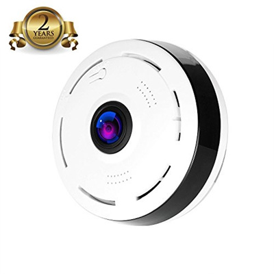 (Aceestar) Camera 360 App Surveillance Camera 2 0 Megapixel 1080P  Wireleurity WiFi Indoor Super W