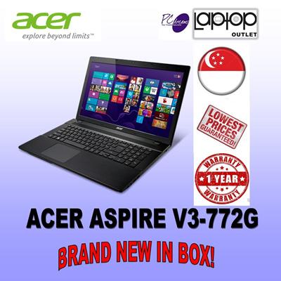 qoo10 acer aspire v3 772g computer game