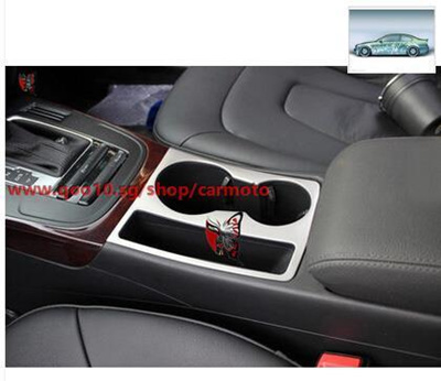 AD/The new A4L cup Audi panel decorative cup holder A5 cup ring cup ring  Sequin special modified bri