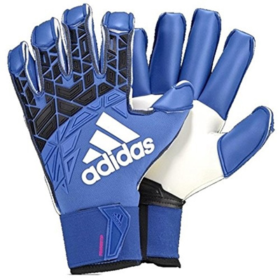 sports shoes a62dd bdefb Adidas Ace Trans Fingersave Pro Goalkeeper Gloves Blue/Black/White