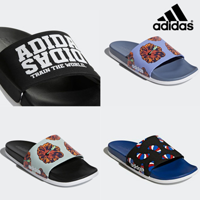 246fb14347c Qoo10 - [ADIDAS] 4 TYPE Trendy designs Slippers / nett price / free ...