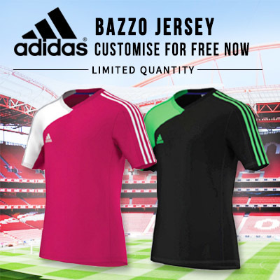 9dea102cead0 ADIDAS BAZZO JERSEYS - CUSTOMISE WITH YOUR NAME AND NUMBER  100% AUTHENTIC
