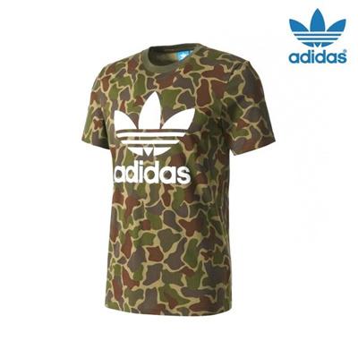 64b3d8e10d43 Qoo10 - Adidas Camo BK5861 / D Men Women Short Sleeve Polo Shirt ...
