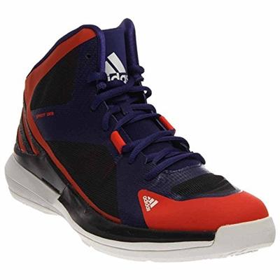 1a375c1507ba2 Adidas Crazy Strike 3 Mens Basketball Shoes 8 Orange-Purple-Grey