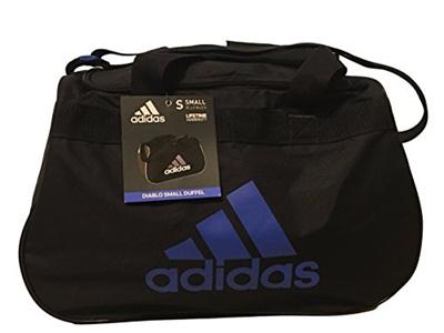 95a351165 Qoo10 - (Adidas) Adidas Diablo Small Duffle Bag/Gym Bag - Black with Blue  Logo... : Bag & Wallet