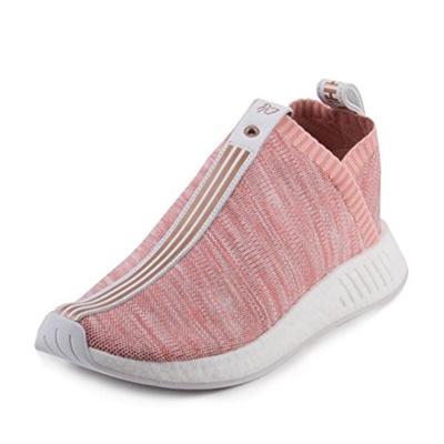 fff47119534f5 Qoo10 - (adidas) Adidas Mens Kith X Naked NMD CS2 PK S.E Pink White Fabric-    Sportswear