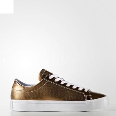 sports shoes 013ec 23474 Adidas UNISEX Originals Court Vantage RunningSHOES BB5201 Sneakers gold white