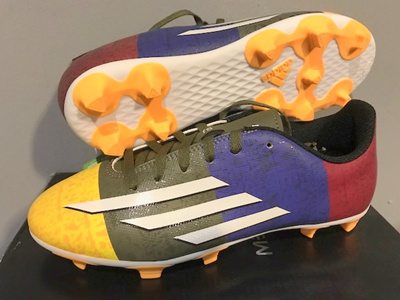 2d24a3cde73 ADIDAS ( US 4.5 5 5.5 6 ) F5 FG MESSI KIDS YOUTH FOOTBALL SOCCER BOOTS