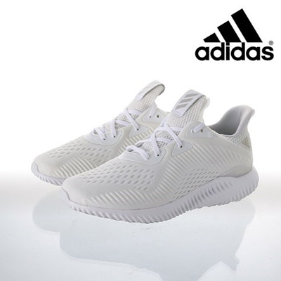 101a72c6a96b0 Qoo10 -  adidas  Alpha Bounce EM Men s White Running Shoes  BY4426    Sportswear