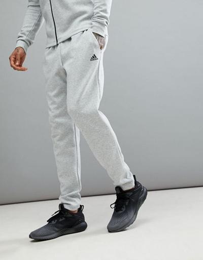 adidas Athletics Stadium Pants In Gray CW0261