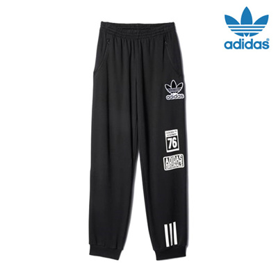 Qoo10?Spedizione Qoo10?Spedizione Qoo10?Spedizione Gratuita?100% Autentico?Adidas Logo Pantaloni... daae70