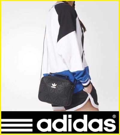 ccccca01aeba7c Limited Edition Adidas 3D Mini Airliner Bag and Roll Top Backpack and  (Comes with Original