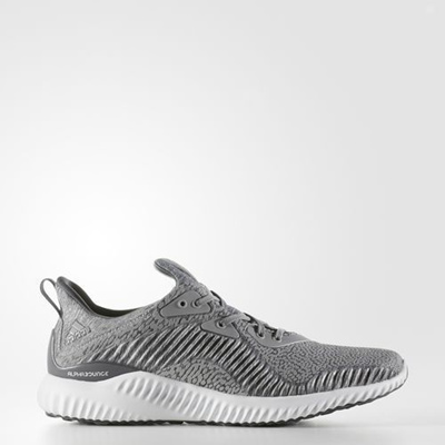 85b5ab7c5 Mens Adidas Alphabounce HPC AMS Grey Running Athletic Sport Shoes BY4327  9-15