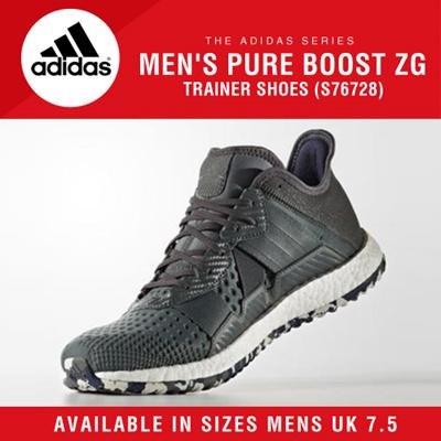 1e436a83e2614 Qoo10 - Adidas Mens Pure Boost ZG Trainer Shoes (S76728) UK7.5   Men s Bags    Shoes