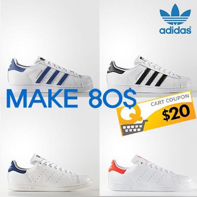 Qoo10 ADIDAS STAN SMITH CF S75188 G sneakers sneakers