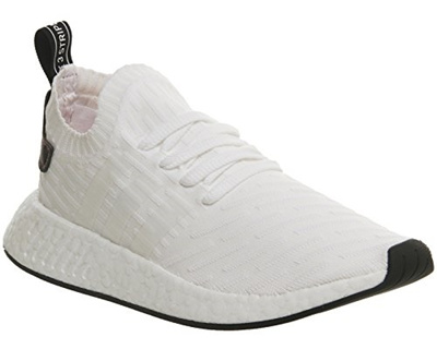 brand new 2d42f 6c4b7 (adidas) NMD R2 PrimeKnit BY3015 Triple White-