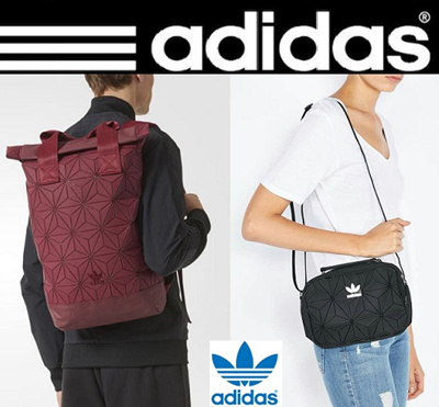 73018867f9a3 Original Adidas 3D Roll Top Backpack and Mini Airliner Bag(Comes with Adidas  Receipt)