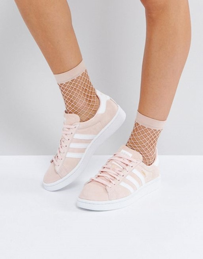 Qoo10 - adidas Originals Campus Sneaker In Pale Pink   Shoes 209caf934