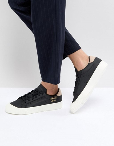 8cac9ad9d43 Qoo10 - adidas Originals Everyn Sneakers In Black   Shoes