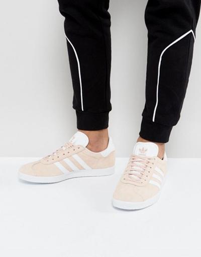 qoo10 adidas originali gazzella scarpe rosa bb 5.472: scarpe