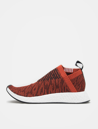 newest 21db0 bd6be ADIDAS ORIGINALS NMD City Sock PK – Red (Men)