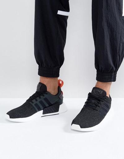 qoo10 adidas originali nmd r2 scarpe in nero ac 3384: scarpe