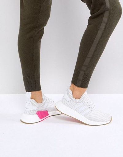 e2ed0fa135a5 Qoo10 - adidas Originals NMD R2 Sneakers In White   Shoes