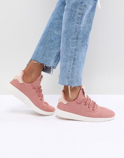 4fa492fb2 Qoo10 - adidas Originals Pharrell Williams Tennis Hu Sneakers In Pink    Shoes
