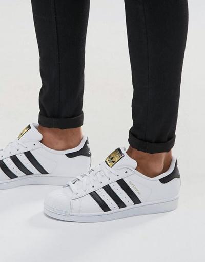 adidas Originals Superstar sneakers in white c77124