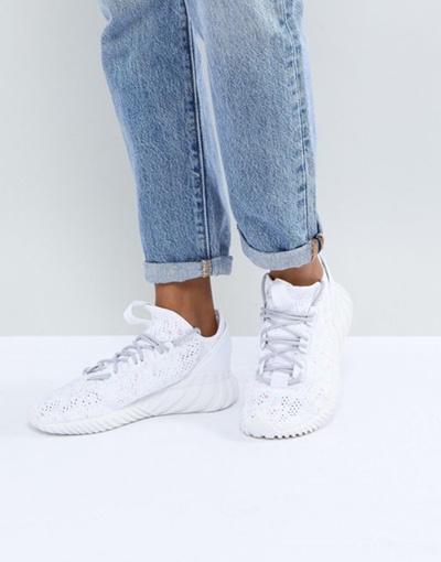 Sneakers Tubular Sock Originals Doom White Adidas In ARL534j