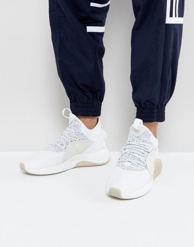 online store 71439 2849b adidas Originals Tubular Rise Sneakers In White BY 3555
