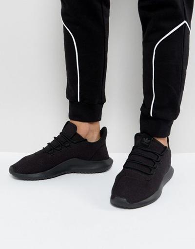 on sale f3b55 77772 adidas Originals Tubular Shadow Sneakers In Black CG 4562