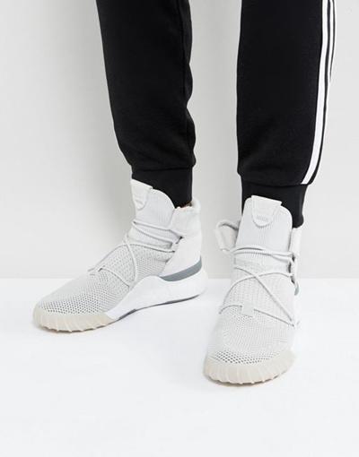 sneakers for cheap 76864 d7987 adidas Originals Tubular X 2.0 Primeknit Sneakers In Gray CQ 1375