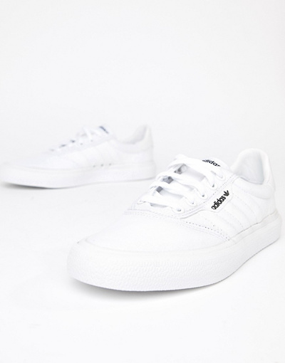 online store b4008 85301 Adidas Skateboarding 아디다스 adidas Skateboarding 3MC Vulc trainer in white