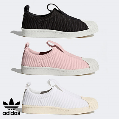 cheaper e44f5 f5716 [Adidas]adidas Superstar BW3S Slip-on Shoes 3 color BY9137 BY9138 BY2949