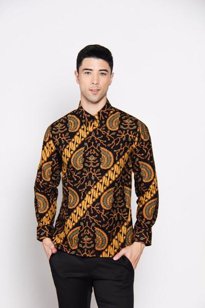410+ Model Baju Batik Long Dress Terbaru